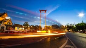 Oscillazione gigante Tailandia Fotografia Stock