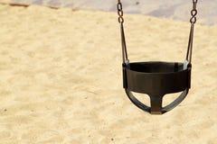 Oscillazione sulla priorità bassa dei bambini Fotografia Stock Libera da Diritti