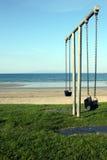 Oscillazioni della spiaggia fotografia stock libera da diritti