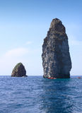 oscille la mer Sicile Images stock