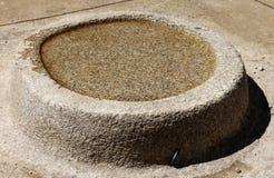 Oscillez avec de l'eau chez Machu Picchu, Pérou. Images stock