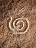 Oscillez l'art de l'Anasazi Photographie stock libre de droits