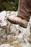 oscillez la progression de chaussure Photo libre de droits