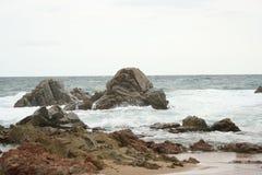 Oscilli il litorale Fotografie Stock