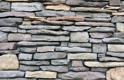Oscilli la struttura della parete varia della dimensione e colori Immagine Stock