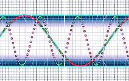 Oscillograph Royalty Free Stock Images
