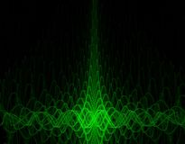 Oscillograph background Stock Photography