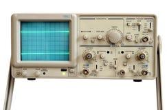 Oscilloscoop stock afbeelding