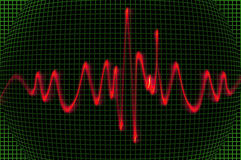 Oscilloscope Royalty Free Stock Image