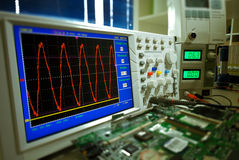 oscilloscope Royalty Free Stock Photos