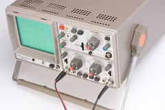 Oscilloscope Stock Image