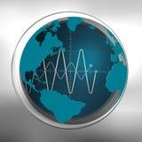 Oscilloscope Royalty Free Stock Photos