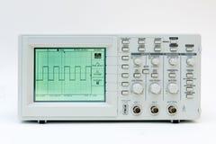 Oscilloscope de Digitals Photographie stock libre de droits