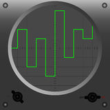 Oscilloscope mode 1 Stock Photography