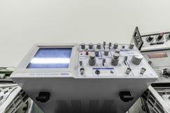 Oscilloskop Fotografering för Bildbyråer