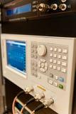 Osciloscópio imagens de stock