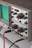 Osciloscópio Foto de Stock
