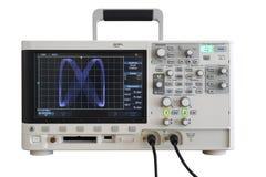 Osciloscópio de Digitas fotografia de stock