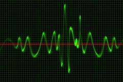 Osciloscopio Foto de archivo libre de regalías