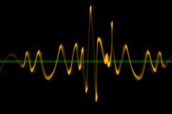 Osciloscopio Imagenes de archivo