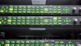 osciloscopio Servidor grande audio del monitor y del analizador, telecomunicaciones almacen de video