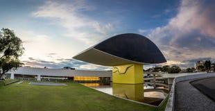 Oscra Niemeyer Musem Royalty Free Stock Photos