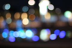 Oscuridad, bokeh ligero imagenes de archivo