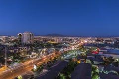 Oscuridad de la zona este de Las Vegas Fotos de archivo