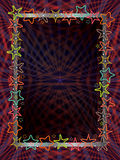 Oscuridad del marco de la estrella Imagenes de archivo