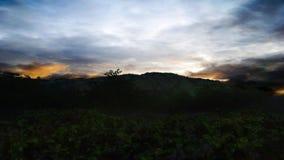 Oscuridad del paisaje Fotos de archivo