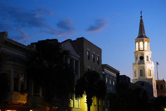 Oscuridad en Charleston Fotos de archivo libres de regalías
