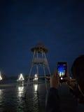 Oscuridad en el parque Foto de archivo