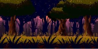 Oscuridad Forest Background del misterio Imagenes de archivo