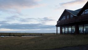 Oscuridad islandesa fotografía de archivo libre de regalías
