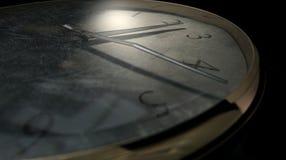 Oscuridad llevada antigua del reloj de bolsillo imagenes de archivo
