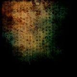 Oscurità antica afflitta delle lettere - priorità bassa Grungy fotografia stock