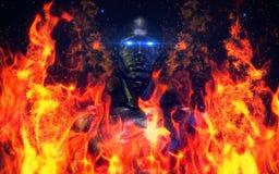 Oscurità astratta V2 01 royalty illustrazione gratis