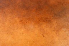 Oscurità di legno rifinita cuoio Immagini Stock
