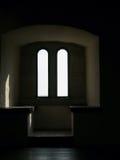 Oscurità e bianco Fotografia Stock