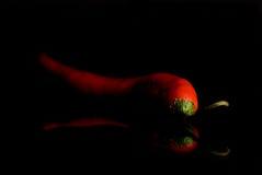 Oscuro de salchichones Fotos de archivo