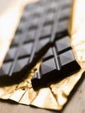 Oscuro, llano, chocolate foto de archivo