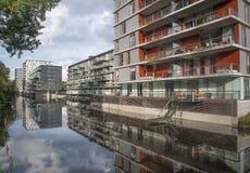 Osdorp moderno Amsterdam dell'alloggio Immagini Stock