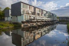 Osdorp moderno Amsterdam dell'alloggio Fotografia Stock Libera da Diritti