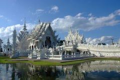 Osedda Thailand Wat Rong Khun Royaltyfri Bild