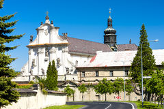 Osek Monastery Royalty Free Stock Photo