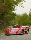 Osella PA Prototype Race Car. A Prototype Race Car  attends the 33th edition of Coppa del Chianti Classico  a competition race of hill-climb for Historical cars Royalty Free Stock Photo