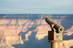 Oservation Telescope Grand Canyon AZ Stock Image