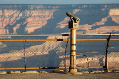 Oservation Telescope Grand Canyon AZ Royalty Free Stock Images