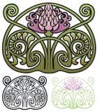 Osetu ornament Obrazy Stock