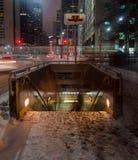 Osgood Station Toronto Fotografering för Bildbyråer